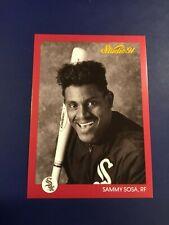 1991 Leaf Studio # 38 SAMMY SOSA Chicago White Sox CUBS Nice Card !