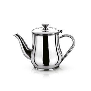 Teekanne Teezubereiter Teebereiter Kanne Edelstahl poliert, 700 ml