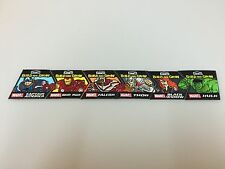Lowes Build and Grow - 2016 Avengers Patch Complete Set NEW