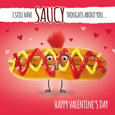 Valentine's Day Card Saucy Thoughts About You Valentines