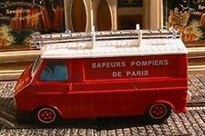 CITROEN C35 ECHELLE POMPIER PARIS SOLIDO 2118 1/50 FIRE TOLE POMPIERS SAPEUR