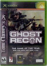 Tom Clancy's Ghost Recon XBOX Video Game with Instructions Used 2002