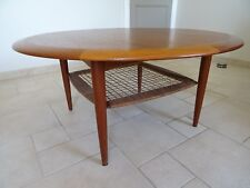 ancienne table basse teck JOHANNES ANDERSEN teak coffee table CFC silkeborg