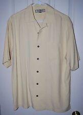 TOMMY BAHAMA Men's 100% SILK S Button Front SHORT SLEEVE Shirt EC