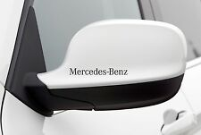 4x Wing Mirror Stickers fits Mercedes Benz Car Decal Vinyl Adhesive AL47