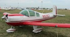 M-10 Cadet Mooney USA Private Airplane Wood Model Replica Small  Free Shipping