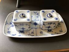 royal copenhagen desktop tray and ink pots