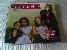 DESTINY'S CHILD - WITH ME - R&B CD SINGLE