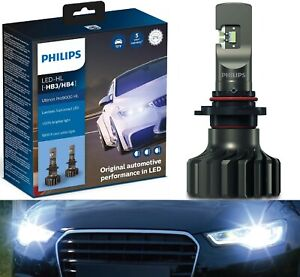 Philips Ultinon Pro9000 LED 5800K 9006 HB4 Two Bulbs Head Light Low Beam Fit OE