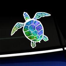 Watercolor Sea Turtle - Pretty Colorful Sticker Decal