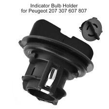 Black Indicator Bulb Holder Turn Signal Bulb Socket For Peugeot 207 307 607 807