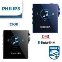 Philips DSD MP3 Player SA8332 32GB ANC Blutooth Digital Player Voice Recorder
