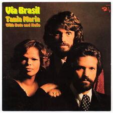 TANIA MARIA, BOTO, HELIO - Via Brasil - 1975 France LP - Barclay