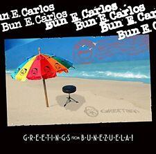 BUN E. CARLOS GREETINGS FROM BUNEZUELA!  CD ALBUM (Released June 24th 2016)