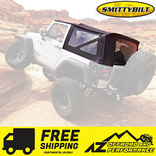 Smittybilt Replacement Soft Top For 07-09 Jeep Wrangler JK 2 door Black Diamond