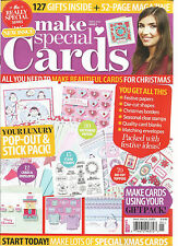 MAKE SPECIAL CARDS MAGAZINE,  X-MAS, 2016  ISSUE, 05     ONLY 50 PAGES MAGAZINE