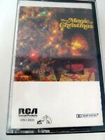 Vtg 1990 The Magic Christmas RCA Cassette Tape Original Insert Tested Var Artist