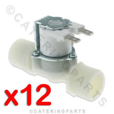 """PACK OF 12 X SV12 3/4"""" X 3/4"""" (22mm) 240V WATER INLET SOLENOID VALVE STRAIGHT"""