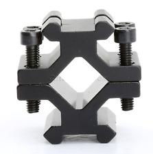 Nuevo Doble Carril Universal Ajustable 20 mm montaje de barril de carril Picatinny/Weaver