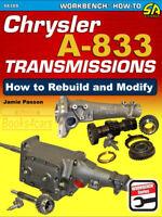 A833 TRANSMISSION CHRYSLER SHOP MANUAL SERVICE REPAIR BOOK A-833 PASSON