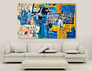 Canvas Wall Art - Jean Michel Basquiats - Bird On Money