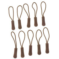 10pcs- Reißverschlußanhänger Reißverschluß Anhängeband. Elastische Kordel