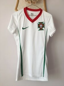 PORTUGAL 2008 2010 WOMENS AWAY FOOTBALL SOCCER SHIRT JERSEY PLAYER ISSUE NIKE