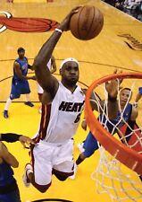 LeBron James Miami Calor Baloncesto nueva impresión de arte poster YF1361