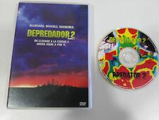 DEPREDADOR 2 PREDATOR 2 - DVD + EXTRAS ESPAÑOL ENGLISH ALEMAN