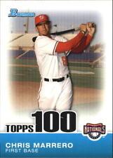 2010 Bowman Baseball Topps 100 Prospects #TP-73 Chris Marrero