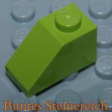 unbespielt ! 20 Stück  4286 grüne Dach Steine 1x3 TT09 Dachstein in grün