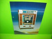Hellomat Automaten STERN SUPER Original Slot Machine Sale Flyer German Text Rare