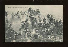 Germany RUGEN Gruss aus dem Famililienbad Bathing c1900/10s? PPC