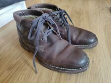 Vintage Clark boot- Brown.Made In Vietnam. 100% genuine cow leather, water proof