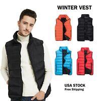 Brand New Men/Women Sleeveless Winter Vest Jacket Size S-XL