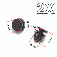 2X Exterior Door, Sill and Wheel Arch Moulding Trim Clips for Land Rover