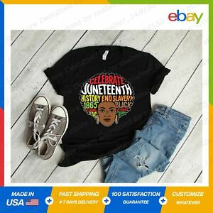Black Culture Melanin Juneteenth Independence Day T-Shirt S-5XL