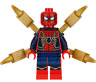 NEW LEGO IRON SPIDER-MAN FROM SET 76108 AVENGERS INFINITY WAR (sh510)