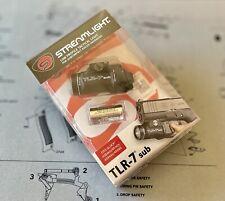 Streamlight Tlr-7 Sub Ultra Compact Light Glock 43x 48 G43x G48 (tlr7sub) New!