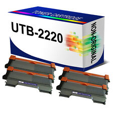 4x TN-2220 Laser Toner Cartridge for Brother MFC-7460DN HL2250DN HL2270DW