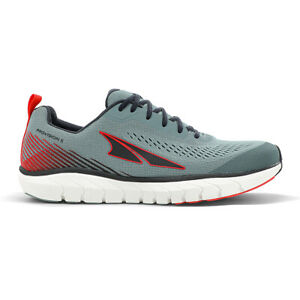 Altra Footwear Men's Provision 5 Running Shoes - Light Gray/Red
