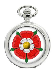 Tudor Rose Full Hunter Pocket Watch