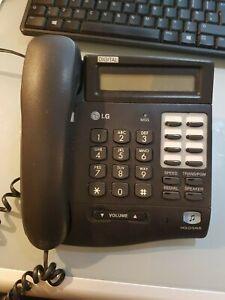 LG Nortel LKD-8DS DIGITAL Key Telephone Unit - Black, Used