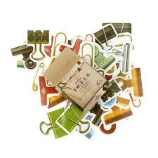 45pcs/box Gadgets Clip Paper Seal Stickers Labels DIY Scrapbooking Diary Decor C