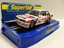 Slot SCX Scalextric Superslot H3782 BMW E30 BTCC 1991 Steve Soper Nº44
