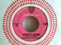 THE  EVERLY  BROTHERS     45  SINGLE   ,   CATHY,S  CLOWN  /  ALWAYS  IT,S  YOU