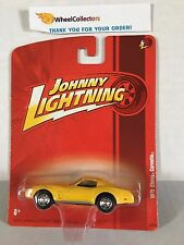 1975 Chevy Corvette * Yellow * Johnny Lightning * H11