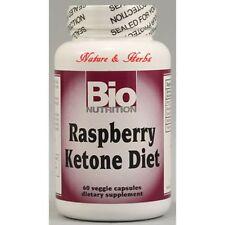 Bio Nutrition Raspberry Ketone Diet - 60 Veggie Caps, 2 pack