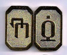 New Series Battlestar Galactica Gold Cubit Set of 2 Different