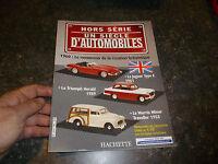 Livret Voitures Britaniques : Jaguar Type E - Triumph Herald - Morris Minor